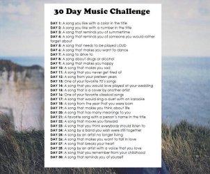 #30DaysMusicChallenge